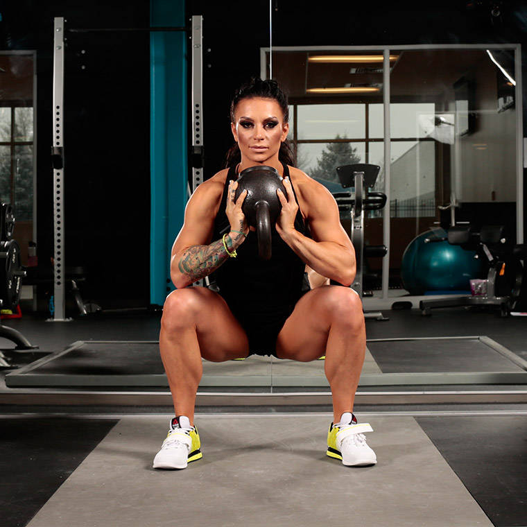 Kettlebell Sumo Squat Exercise Guide and Video