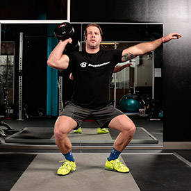how to do a barbell clean