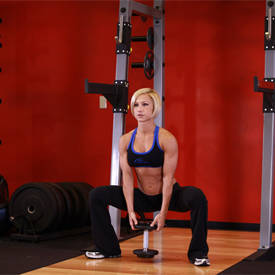 Plie Dumbbell Squat