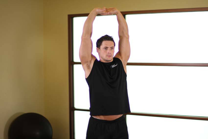 Overhead Stretch image