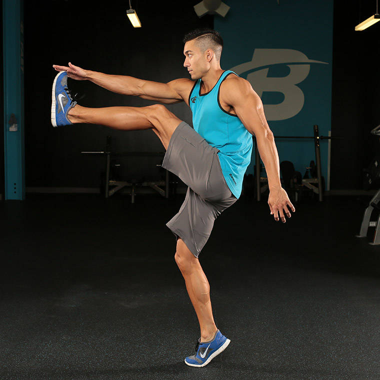 High Kick Exercise Guide and Video