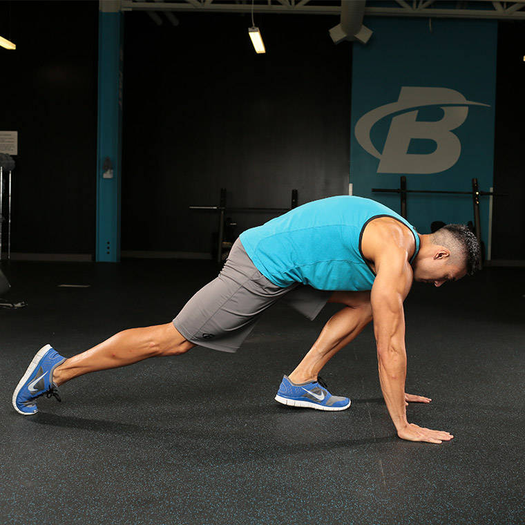 Hip Stretch With Twist image