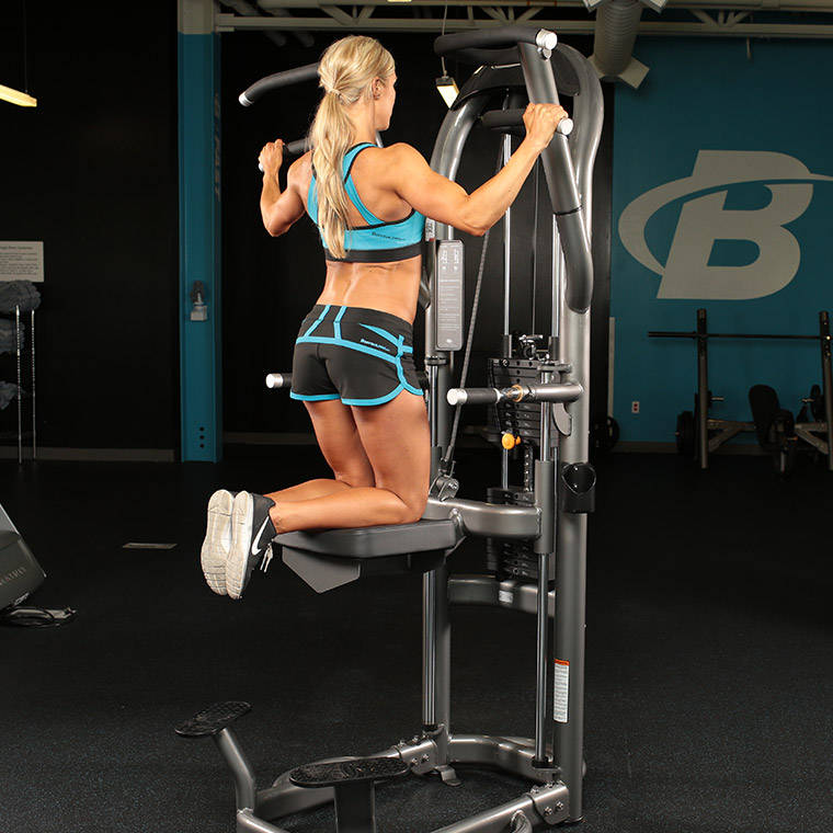 how to use assisted pullup machine