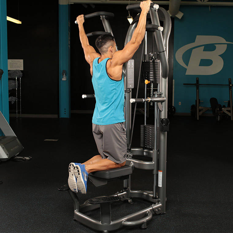 Machine-Assisted Pull-Up Exercise Guide and Video