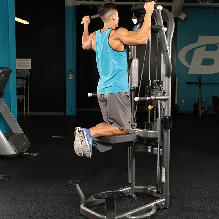 assisted chin up machine