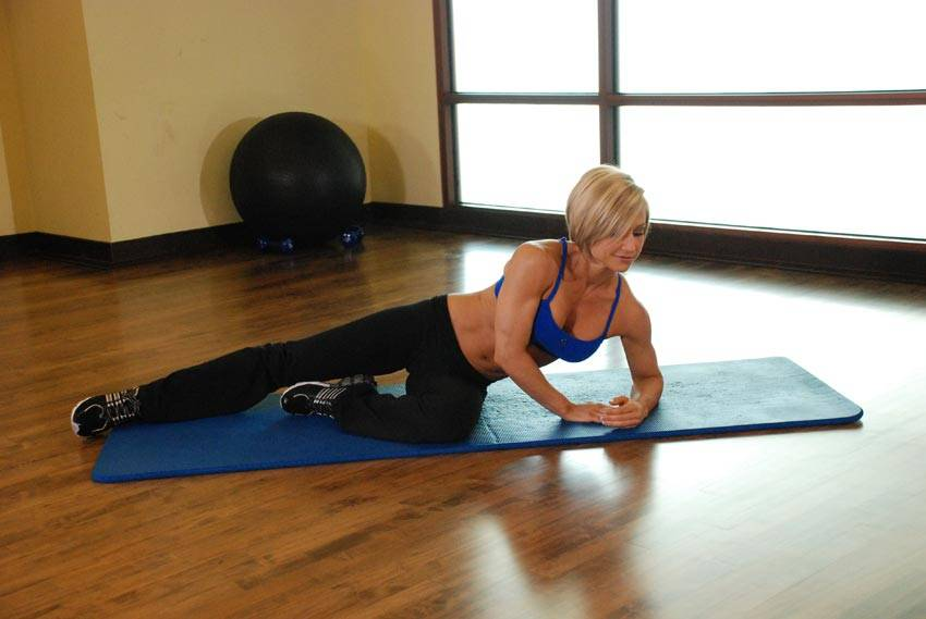 Side Lying Floor Stretch Exercise Guide And Video
