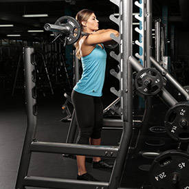 Front Squat (Bodybuilder)