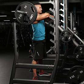 Front Squat (Bodybuilder)