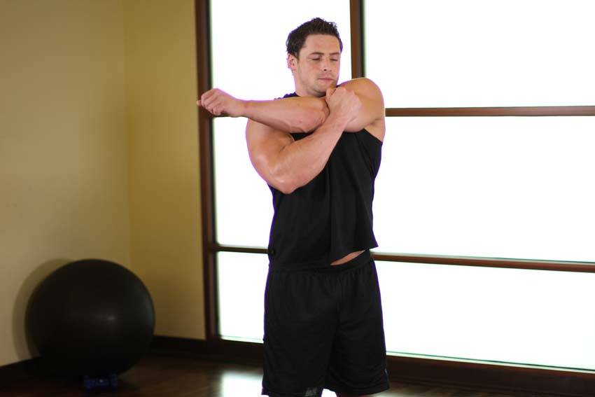 Shoulder Stretch Exercise Guide and Video
