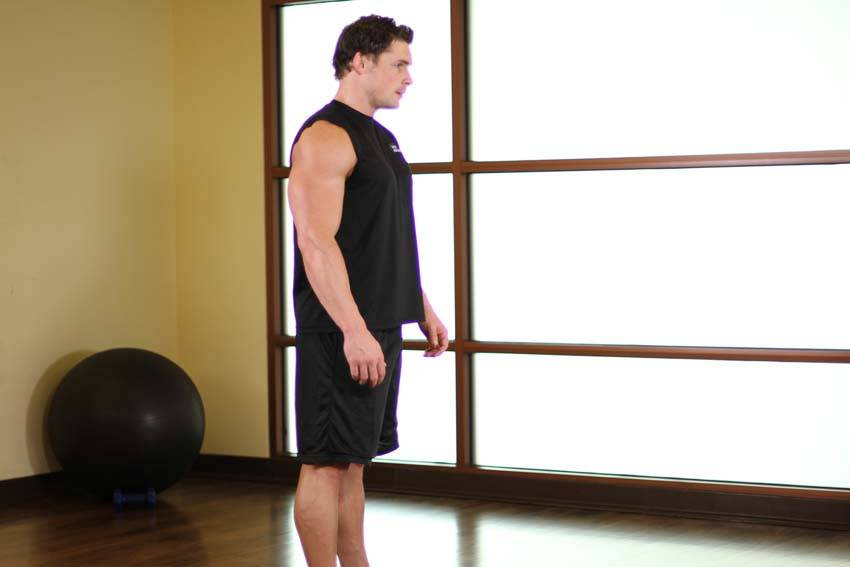 Upper Back Stretch image