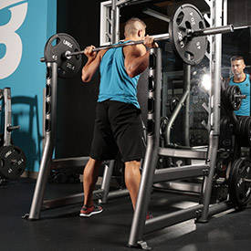 Wide-Stance Barbell Squat