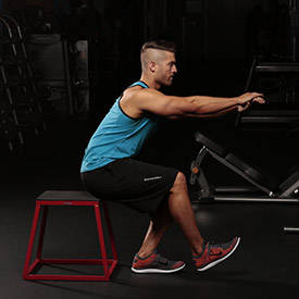 Single-Leg Squat To Box