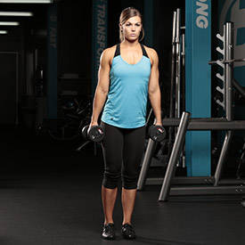 Dumbbell Walking Lunge