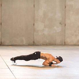 Tiger-bend push-up