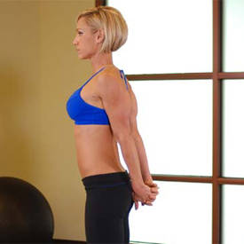 Standing Biceps Stretch