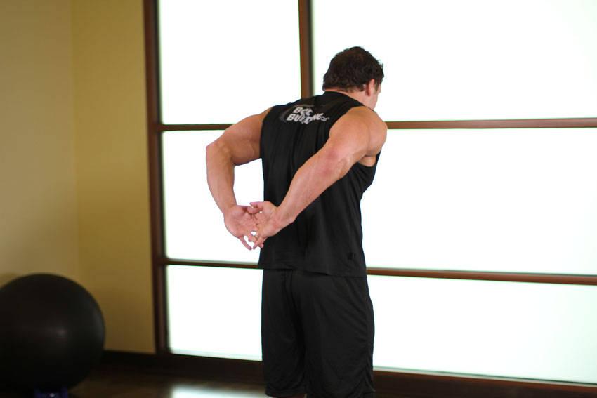bicep stretch -#main