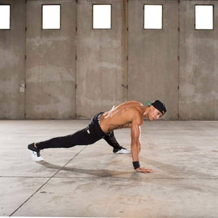 One-Arm Push-Up image