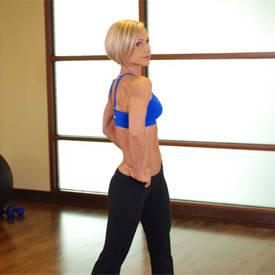 Middle Back Stretch