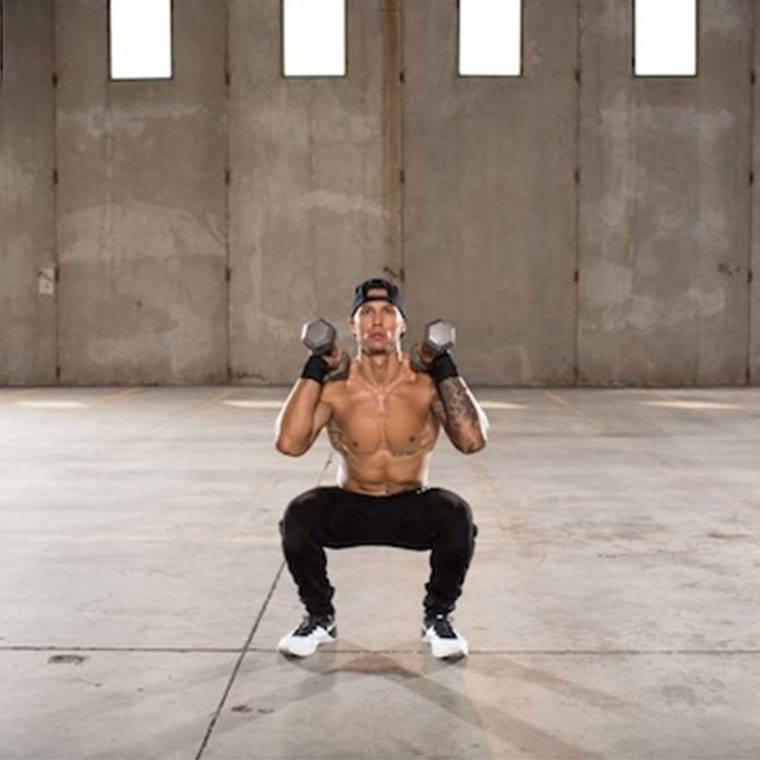 Dumbbell Front Squat Exercise Guide and Video Dumbbell Front Squats