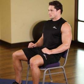 Chair Upper Body Stretch