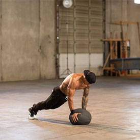 Burpee To Medicine Ball Press