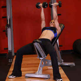 Incline Dumbbell Flyes - With A Twist