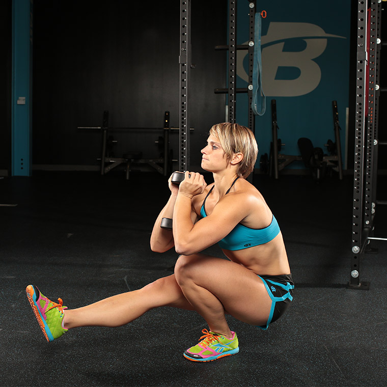 Dumbbell Pistol Squat image