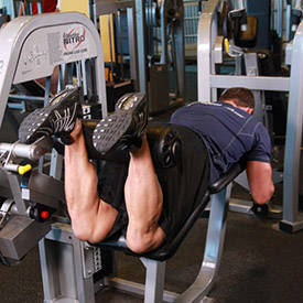 Flexión de rodillas