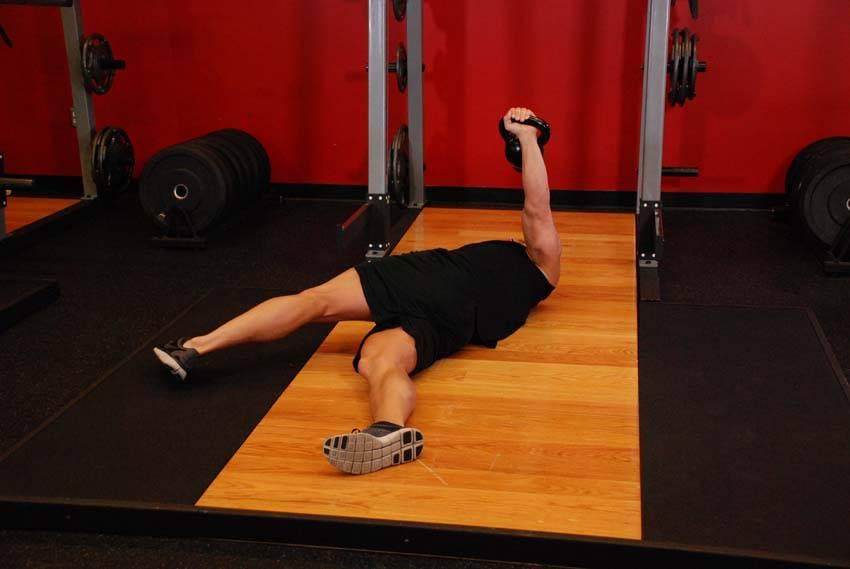 Leg-Over Floor Press image