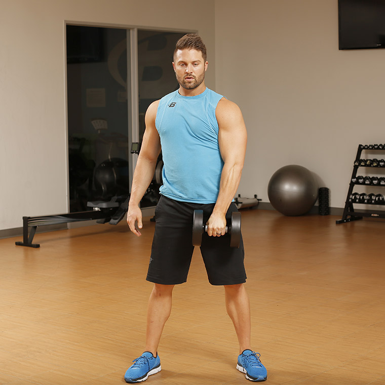 Dumbbell Squat Snatch image
