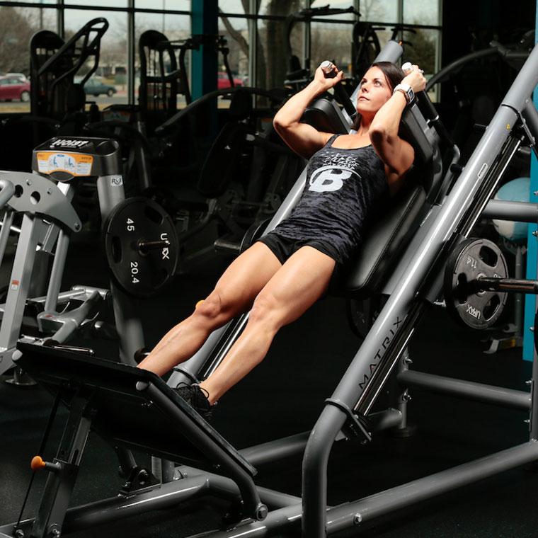 no hack squat machine