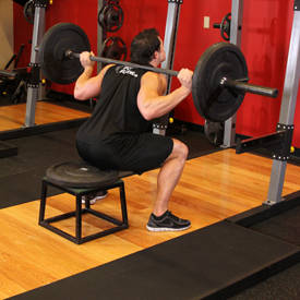 Squat to bench