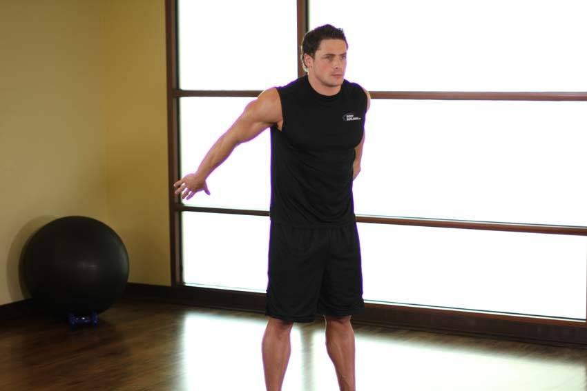 Dynamic Back Stretch image