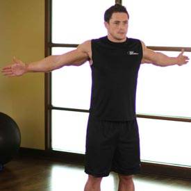 Dynamic pec stretch