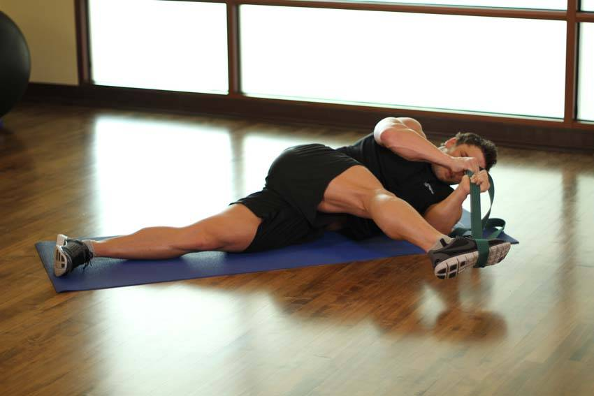 IT Band and Glute Stretch image