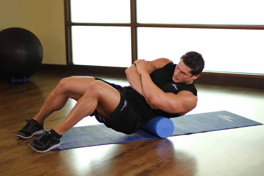 Latissimus Dorsi-SMR Exercise Guide and Video