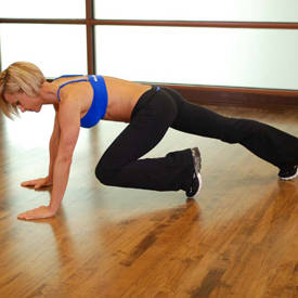 Sprints, mountain climbers, or high-knees