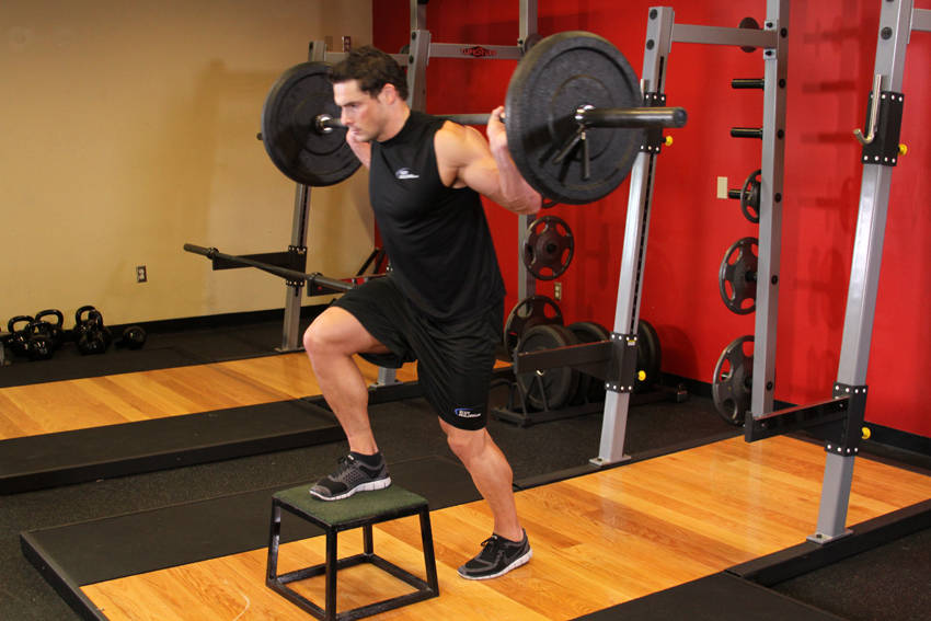 Barbell Step Ups Exercise Guide and Video