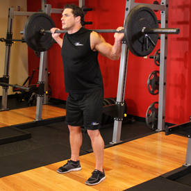 Back squat with 10-second pause