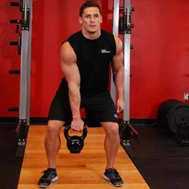 One-Arm Kettlebell Clean and Jerk image