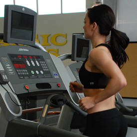 Treadmill sprints