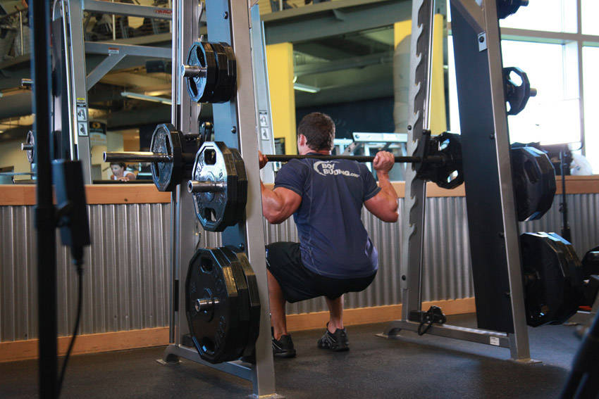 Smith Machine Squat Exercise Guide And Video