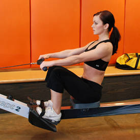 Rowing machine/treadmill