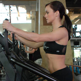HIIT on stair climber