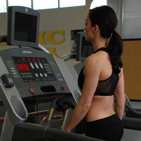 Uphill treadmill walk
