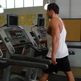 Treadmill Incline Walk