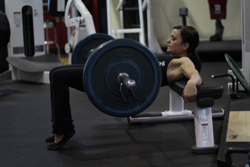 Barbell Hip Thrust Exercise Guide and Video