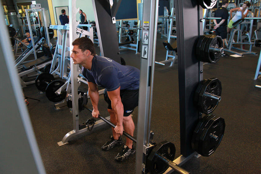 Smith Machine Stiff Legged Deadlift Exercise Guide And Video