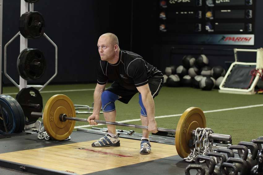 Deadlift with Chains image