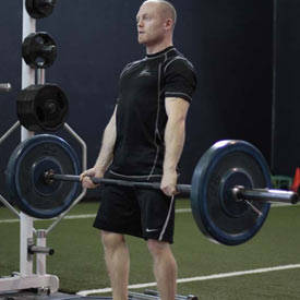Deadlift (from blocks below knees)